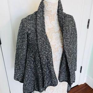 Zara open sweater